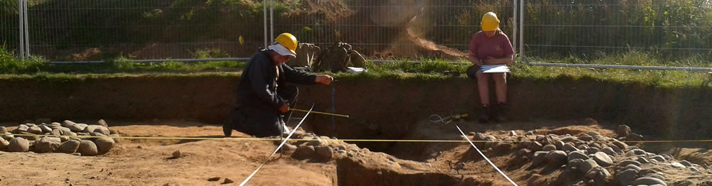 Excavation of Senhouse Roman Museum